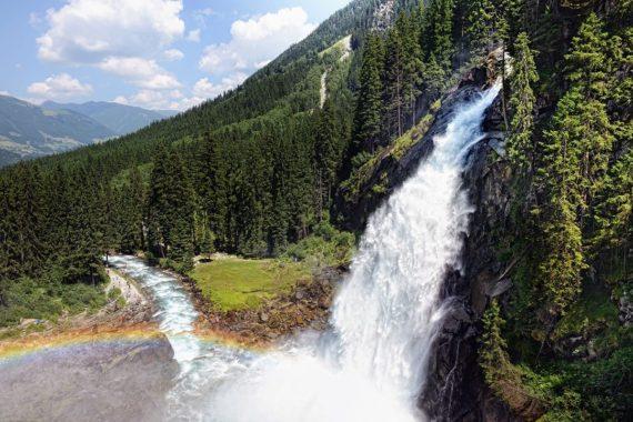 Ausflugsziele, Krimmler Wasserfälle