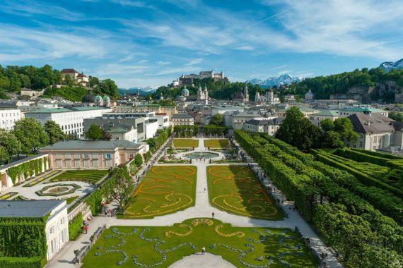 Ausflugsziele, Mirabellgarten Salzburg