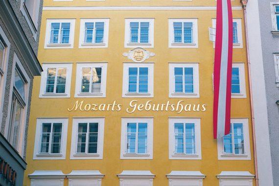 Ausflugsziele, Mozarts Geburtshaus