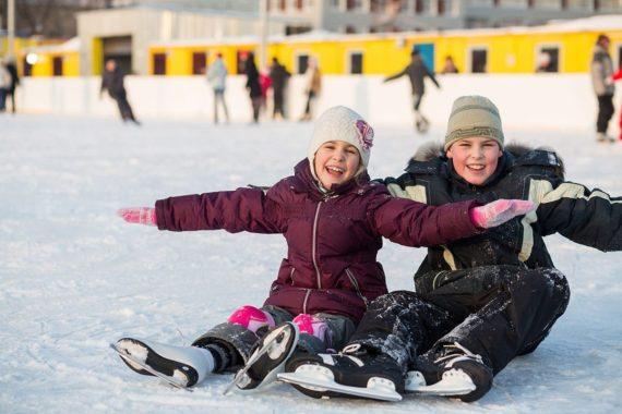 Eislaufen, Winterurlaub, Gastein, Salzburger Land