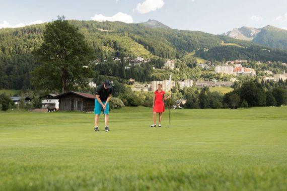 Golfen, Sommerurlaub, Gastein, Salzburger Land