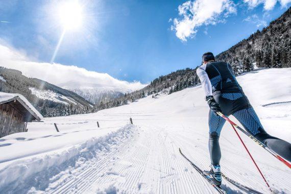 Langlaufen, Winterurlaub, Gastein, Salzburger Land