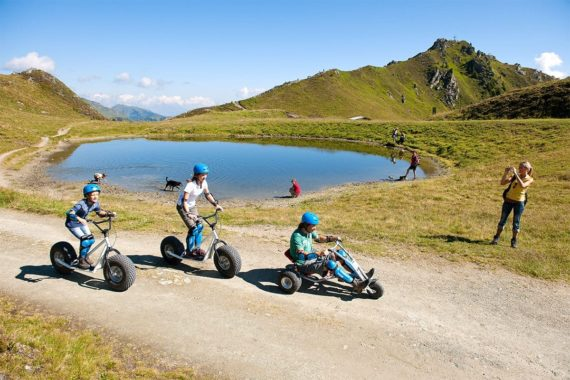 Mountaincart & Monsterroller, Sommerurlaub, Gastein, Salzburger Land