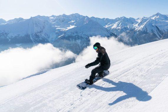 Snowboarden, Winterurlaub, Gastein, Salzburger Land